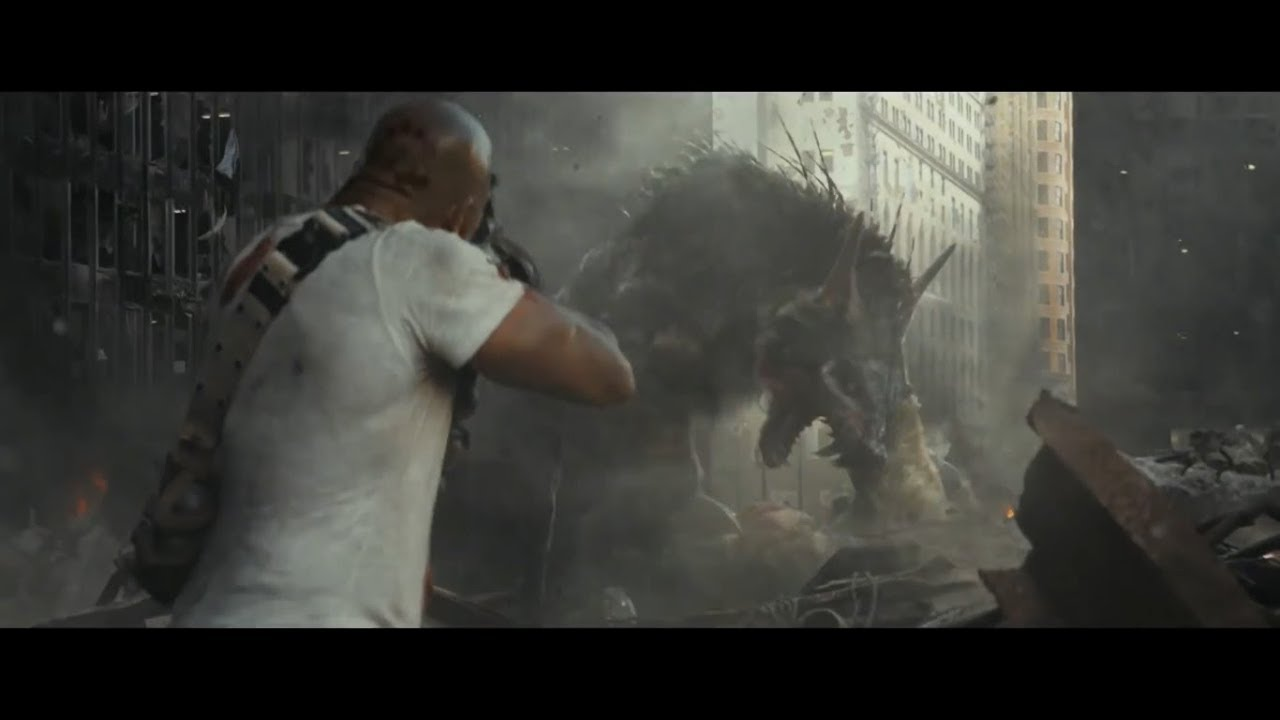 Rampage Trailer 1 2018 Dwayne Johnson Monster Movie Youtube