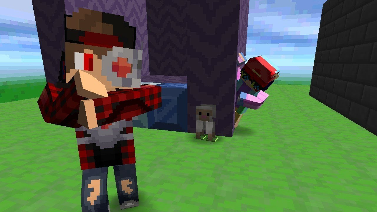 Minecraft|hide and seek funny moments - YouTube