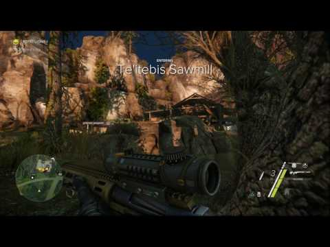 Sniper Ghost Warrior 3 - Act : 1-3 - Trading Goods -  PS4 Pro Gameplay