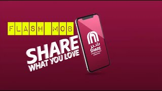 SHARE FLASH MOB MALL OF THE EMIRATES