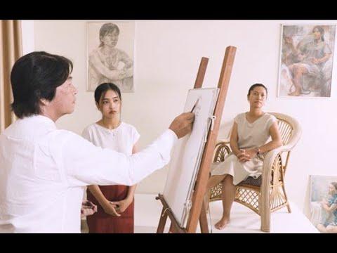 គំនូរតាមផ្ទះ រដូវកាលទី២ ភាគទី៨ ការគូរមនុស្សដោយផ្ទាល់ ART@HOME SEAON2 Ep8  DRAWING PERSON