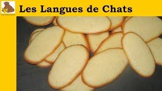 Les langues de chats (recette rapide et facile) HD