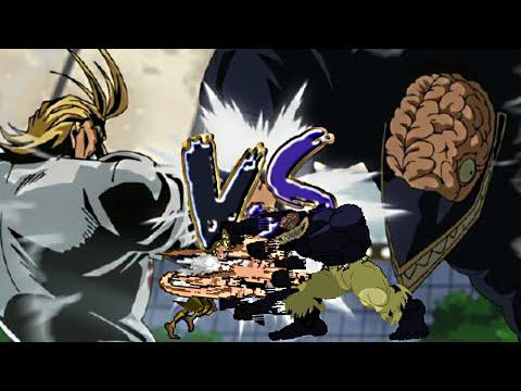 All Might vs Nomu
