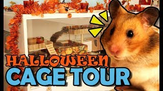 Hamster Cage Tour 🐹 Halloween Edition 🎃 Gehege Update