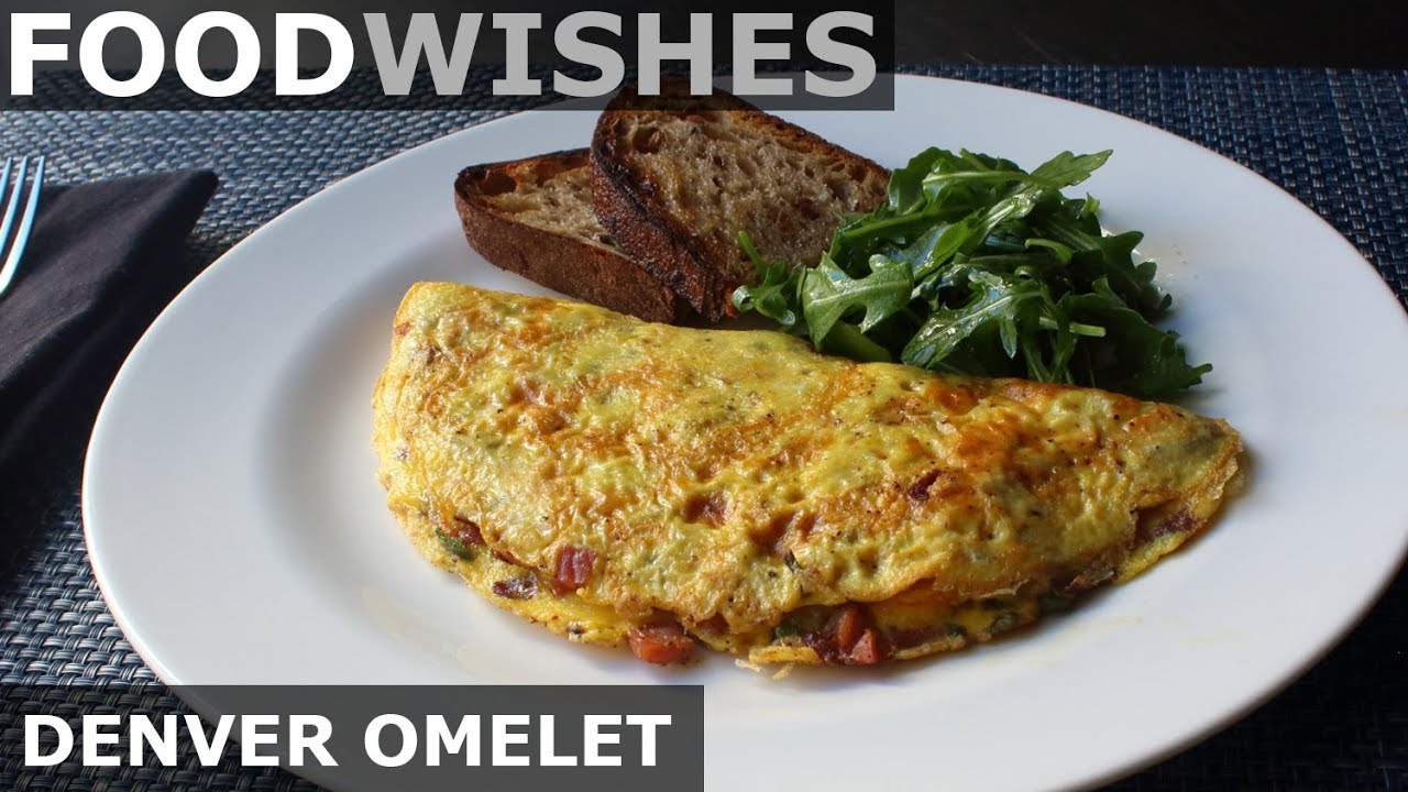 The denver omelet food wishes american style omelet for American style cuisine