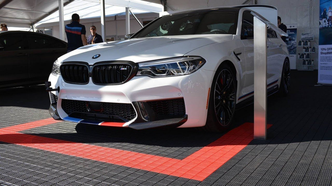 2018 bmw m5 puts on m performance suit, 2017 sema youtube2018 bmw m5 puts on m performance suit, 2017 sema