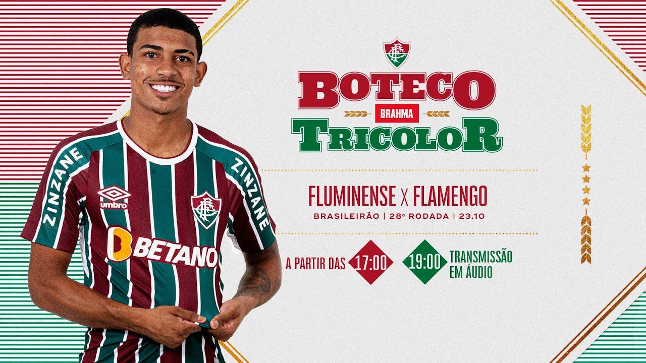 Download FluTV - AO VIVO - Campeonato Brasileiro - Fluminense x Flamengo com Boteco Brahma Tricolor