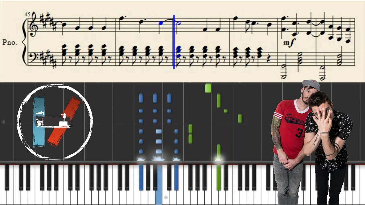 Twenty one pilots holding on to you piano tutorial sheets twenty one pilots holding on to you piano tutorial sheets youtube hexwebz Image collections