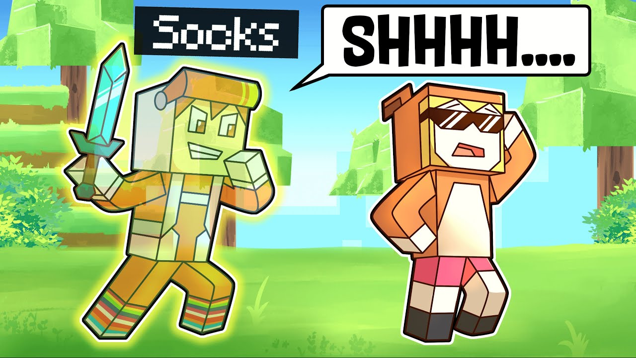 minecraft manhunt but when I crouch I go INVISIBLE (overpowered)
