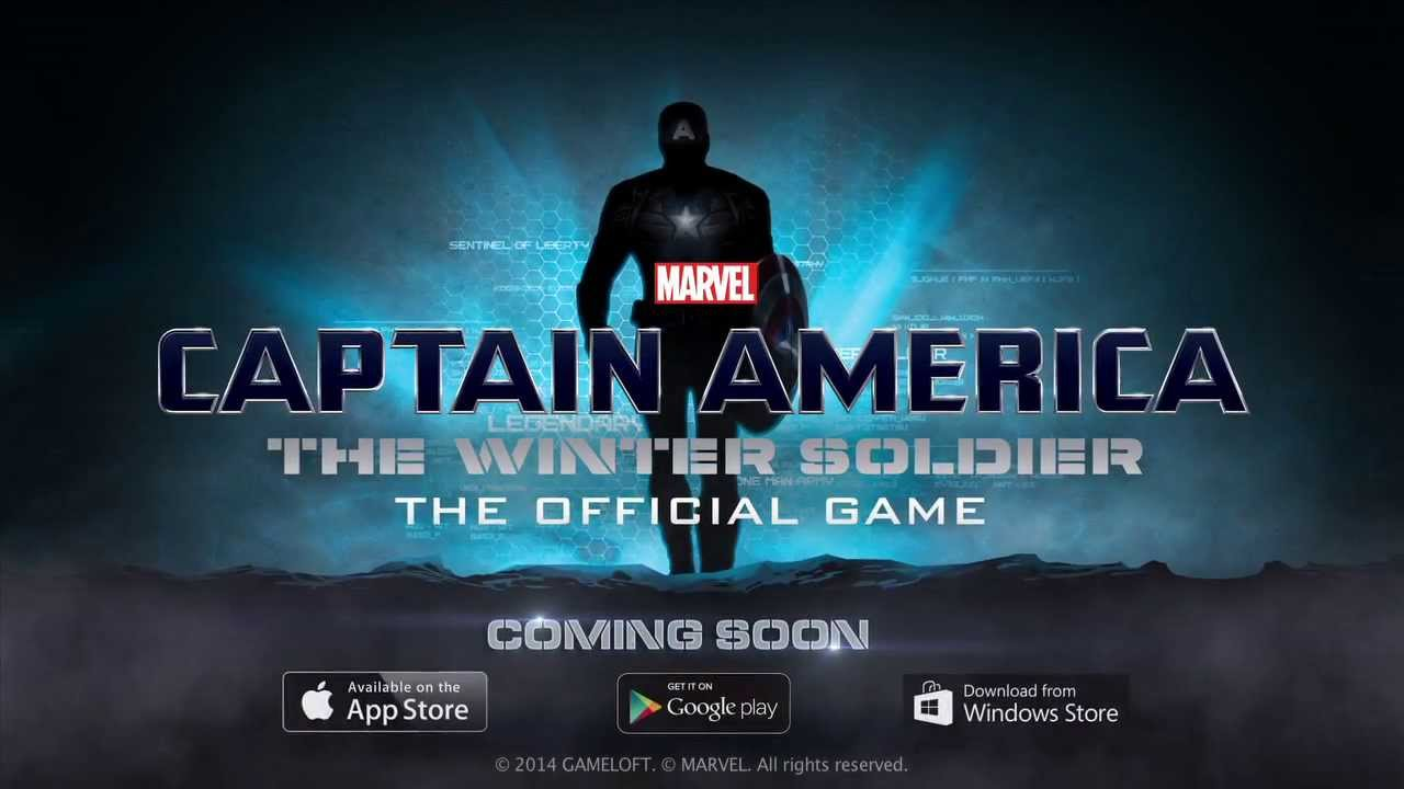 Captain America The Winter Soldier Official Mobile Game Hd
