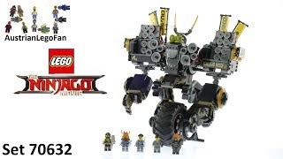 Lego Ninjago Movie 70632 Cole´s Donner-Mech - Lego Speed Build Review