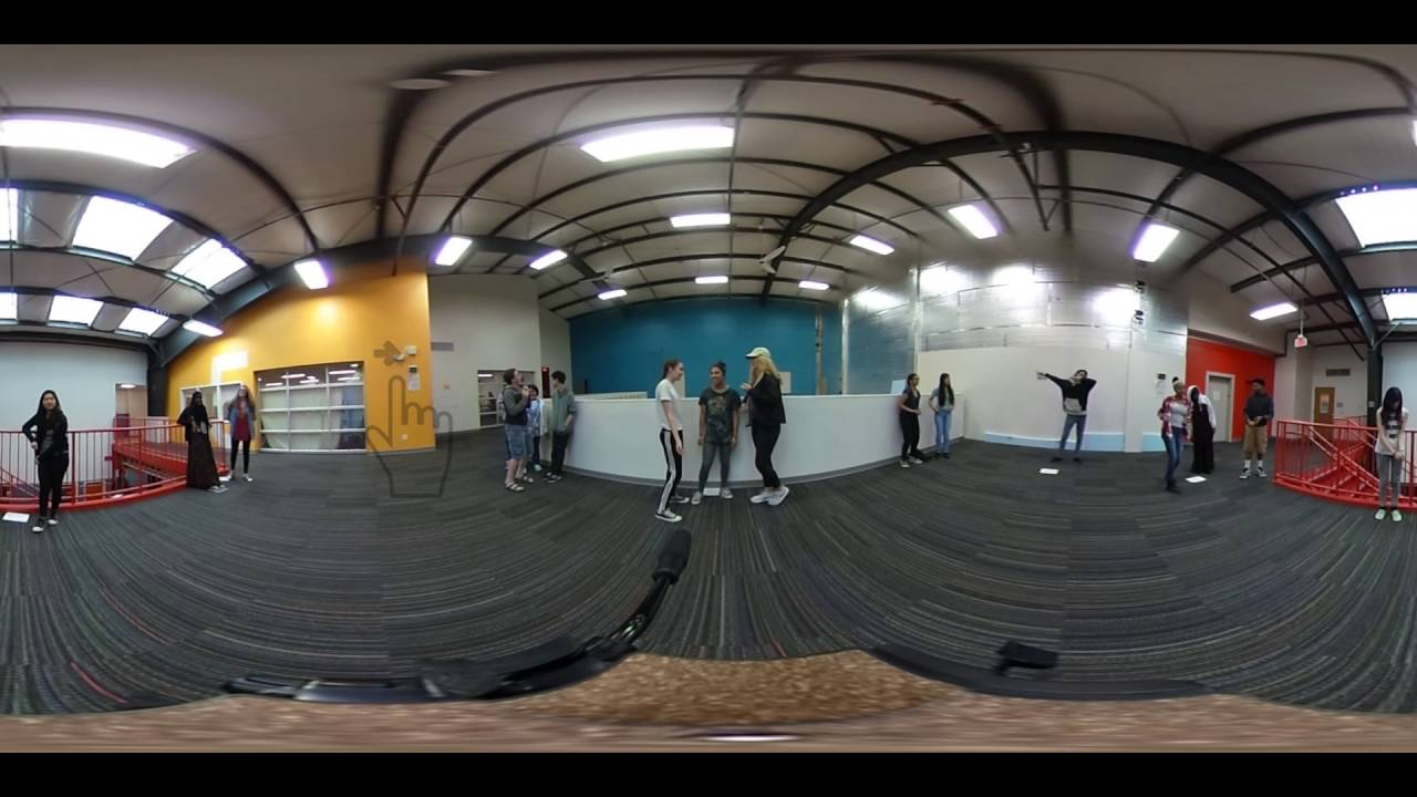 Digital Storytelling A.M. class - VR Portal - 360 video - Class of 2019