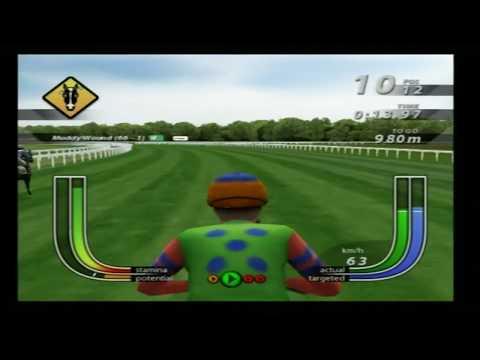 Frankie Dettori Racing PS2 Jockey Mode Gameplay (Tru Blu)