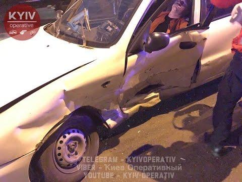 ДТП с пострадавшими на ул. Мостицкой