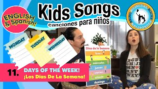 Songs For Kids Music Class Kids with Alina Celeste and Mi Amigo Hamlet - Spanish and English