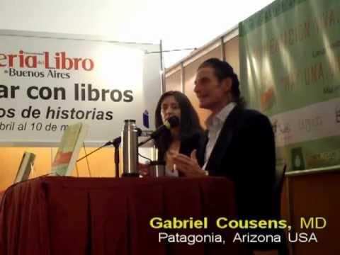 Dr. Gabriel Cousens en Argentina. Libro: