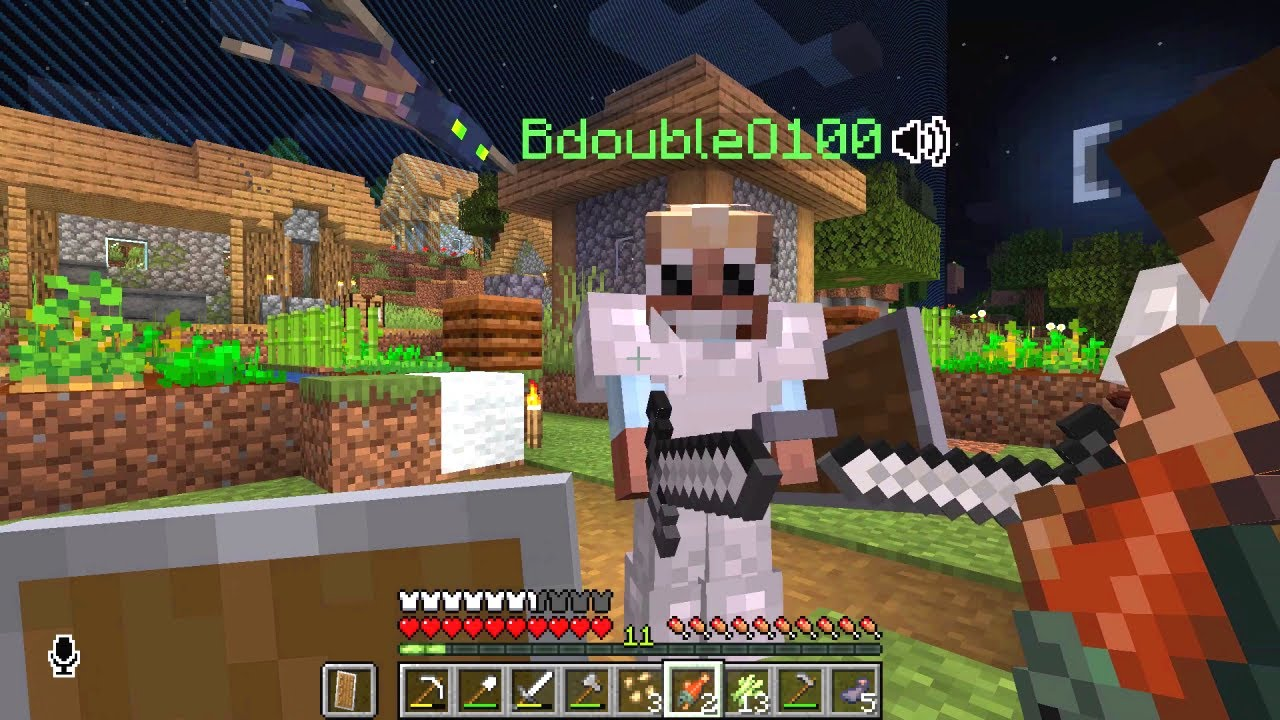 Download Minecraft - 3rd Life #1: Welcome The Village People