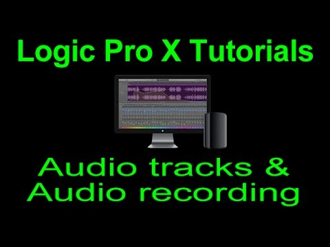 Logic Pro X tutorial: Audio tracks & Audio recording 1 (Audio Interface Setup)
