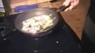 Frugal Recipes -how To Prepare A Thrifty Fried Rice For One Person