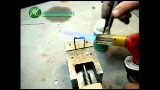 видео Флюс для пайки медных труб: особенности пайки медного трубопровода
