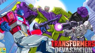 Transformers Devastation Walkthrough Chapter 1: City of Steel All Boss Battle