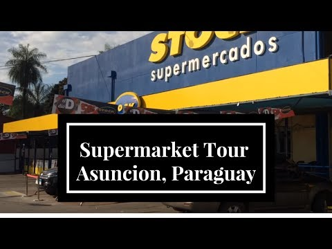 Supermarket Tour Cut Short by Security : Asuncion, Paraguay