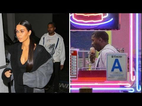 Kim Kardashian And Kanye West's Romantic Night Out