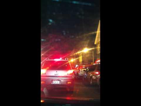 Driving at night to Perth Amboy, NJ 35)