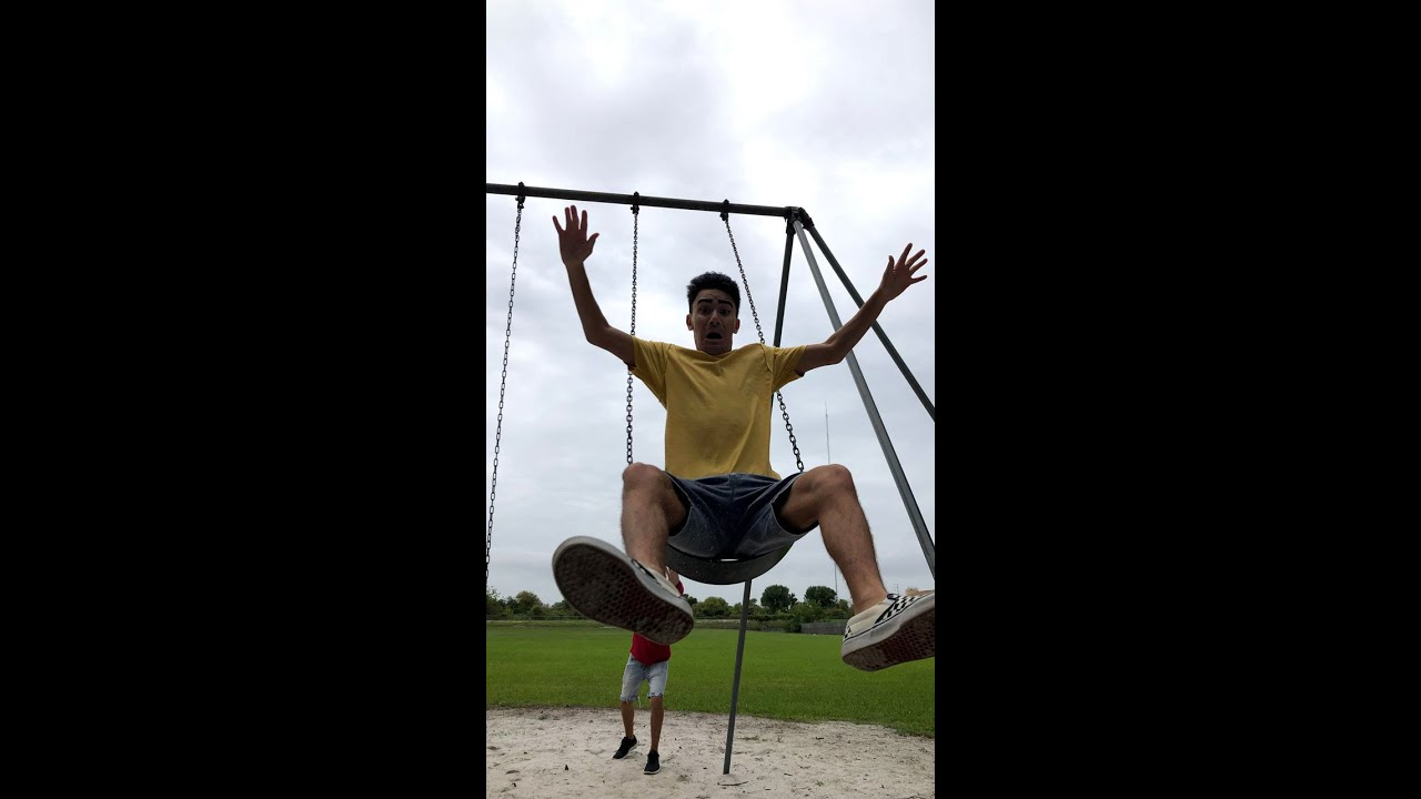Caillou Goes On The Swing #Shorts