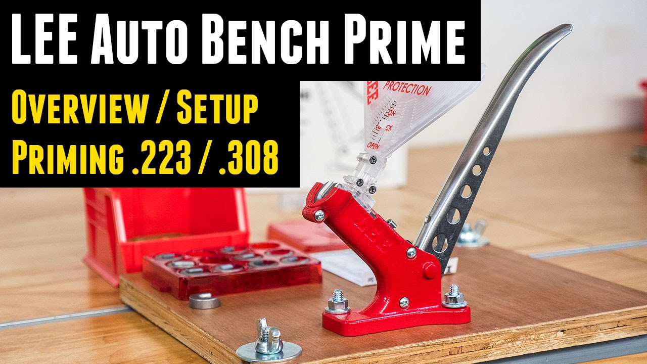 Auto Bench Priming Too LEE PRECISION 90700