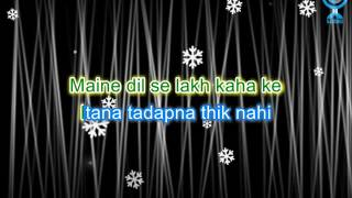 Hindi Karaoke - Jab Na Mana (Bekhudi)