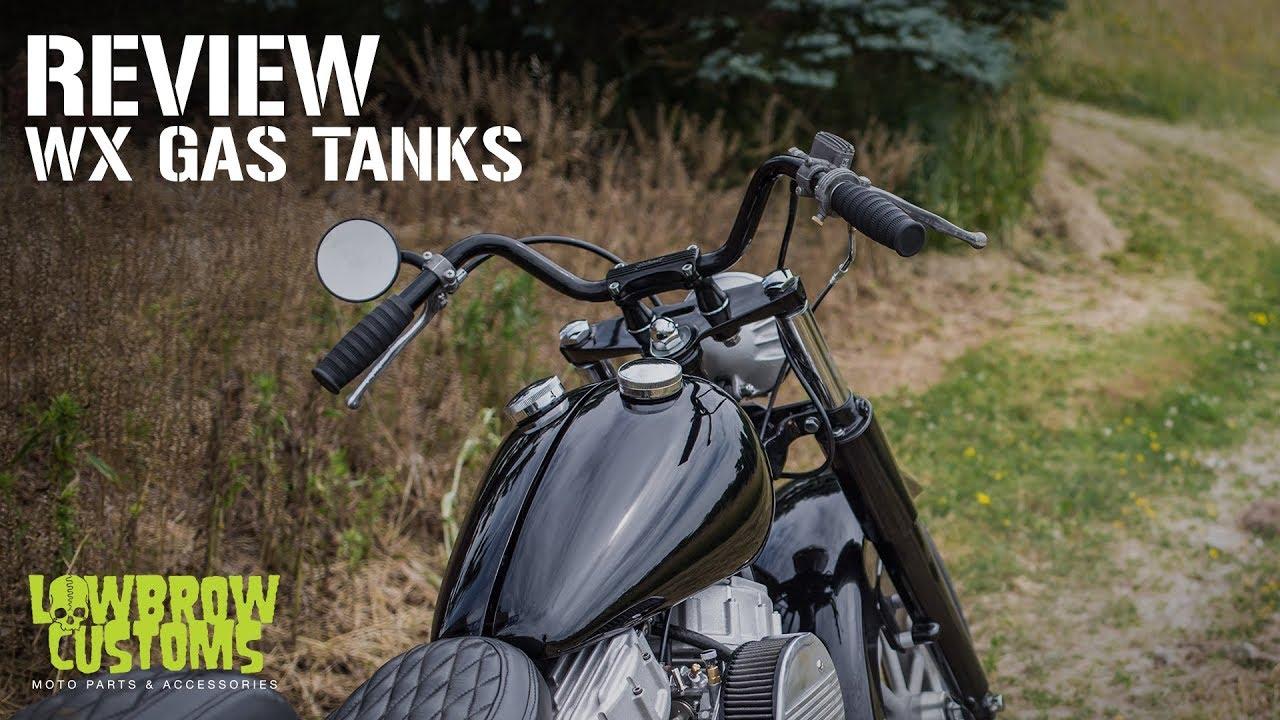 Lowbrow Customs - Custom WX Split Gas Tanks for 1936-1984 Harley-Davidsons,  Panhead, Shovelhead