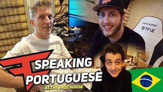 SPEAKING PORTUGUESE W/ TFUE, BANKS, & CLOAKZY