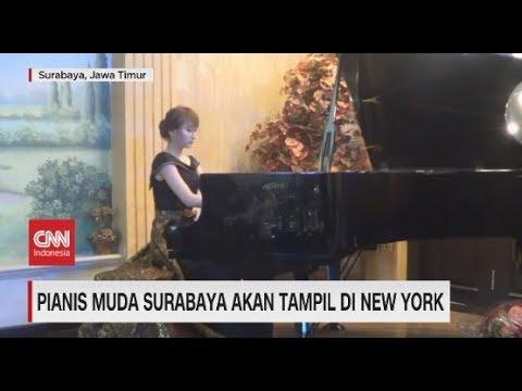 Pianis Surabaya Akan Tampil di New York