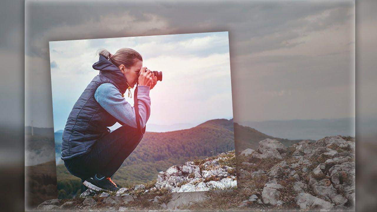 ???? Урок фотошопа. Самый простой эффект. В фотошопе. Adobe Photoshop
