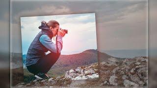 🔴 Урок фотошопа. Самый простой эффект. В фотошопе. Adobe Photoshop