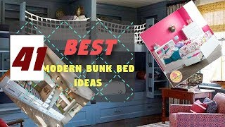 41 The Best Modern Bunk Bed Ideas for Your Home, for small rooms, adults or children