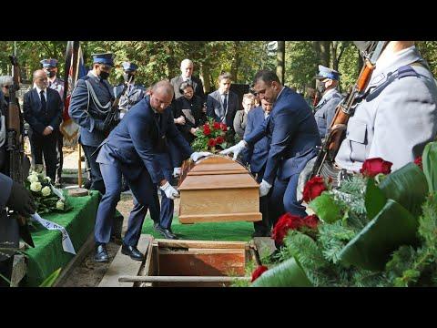 Pogrzeb policjanta Rafała Dzwonnika w Pabianicach