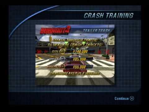 Burnout 3 Crash Training
