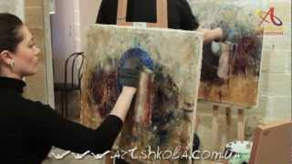 Мастер-класс живописи Елены Ильичевой 10-11-2012