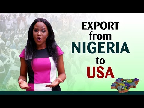 Export From Nigeria to the USA