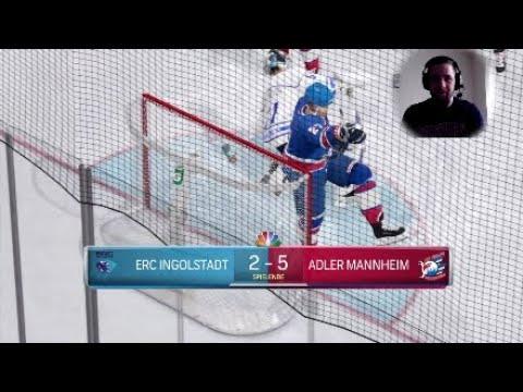 ERC Ingolstadt @ Adler Mannheim NHL 18 Orakel