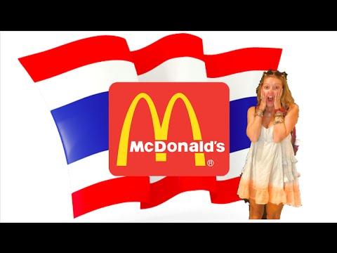 Americans Try Thai McDonald's
