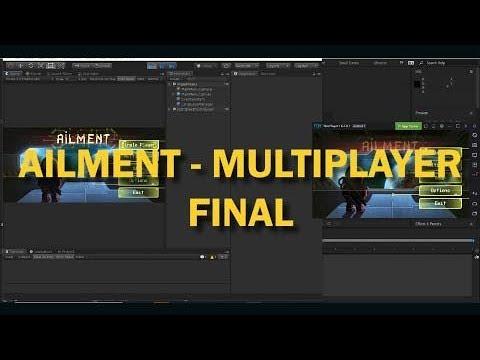 Ailment - Multiplayer Development(Unity 2018/Photon) - Part 7 - Final