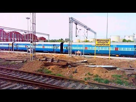 Travel to Chennai city by KCG-CGL express