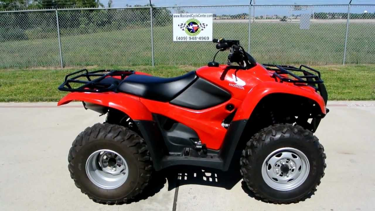 2011 Honda Rancher 420 4x2 Overview And Review Youtube