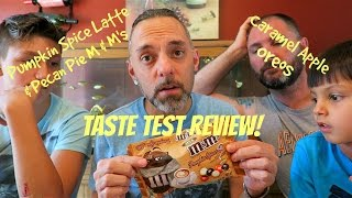 Pumpkin Spice Latte & Pecan Pie M&m's / Caramel Apple Oreo Review!