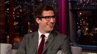 Andy Samberg talking about Joanna Newsom for 10 minutes straight