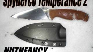 Spyderco Temperance 2:  High Ticket Grind