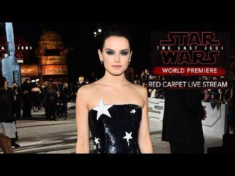 Download Youtube: Full Star Wars The Last Jedi Red Carpet World Premiere (Overhead Unique Sky Camera)